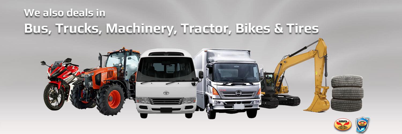 Trucks & Machinery