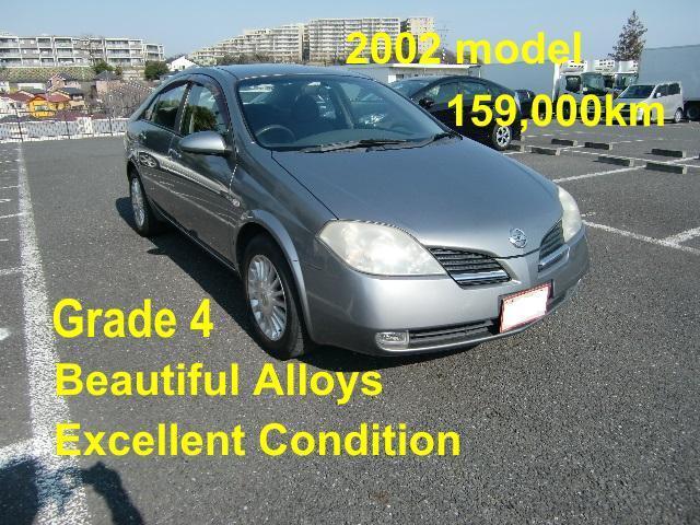 1321 Japan Used Nissan-primera 2002 sedan Car | Traffic